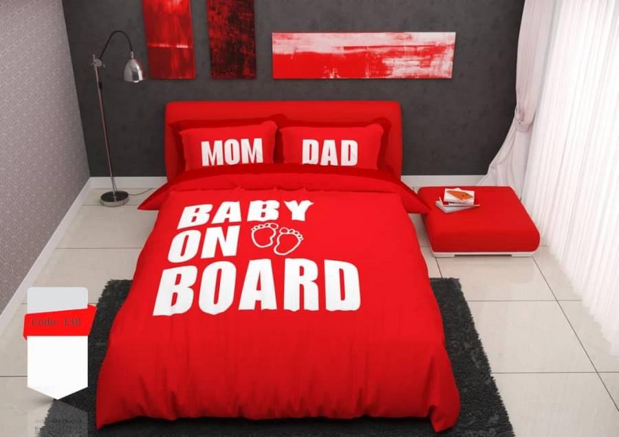 سرویس روتختی یک نفره پسرانه قرمز | کالای خواب بدروم