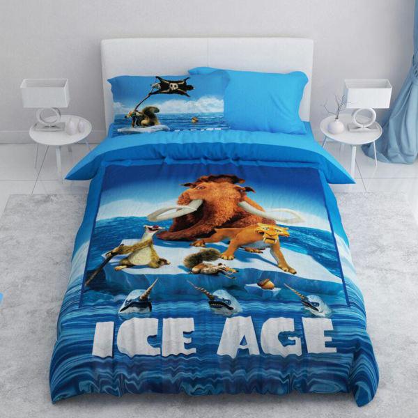 سرویس روتختی یک نفره طرح عصر یخبندان   کالای خواب بدروم