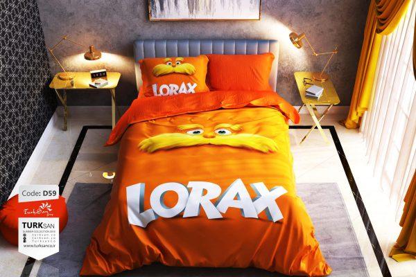 سرویس روتختی یک نفره لوراکس | کالای خواب بدروم