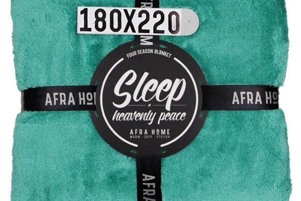 پتو افرا یک نفره سبز بنتون | کالای خواب بدروم