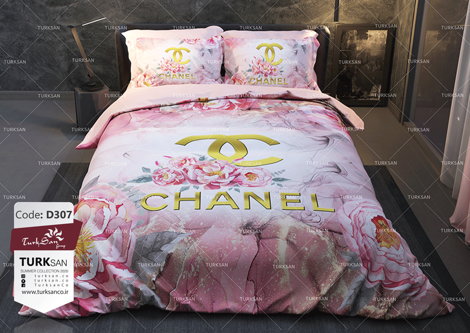 سرویس روتختی یک نفره شنل گلدار | کالای خواب بدروم