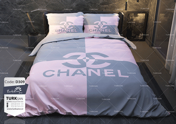 سرویس روتختی یک نفره شنل طوسی صورتی | کالای خواب بدروم
