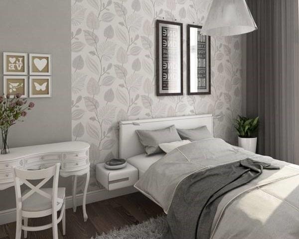ست کردن روتختی با کاغذ دیواری | کالای خواب بدروم