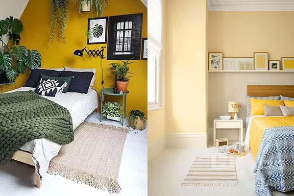 نکته اول - انتخاب رنگ روتختی : هماهنگی با رنگ اتاق خواب | کالای خواب بدروم