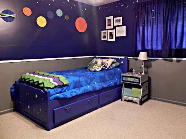 ست روتختی و کاغذ دیواری اتاق کودک | کالای خواب بدروم
