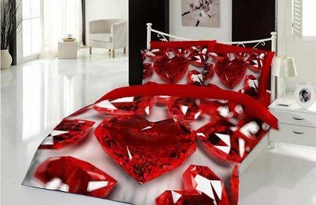 مدل روتختی عروس سه بعدی - مدل های جذاب روتختی عروس | کالای خواب بدروم