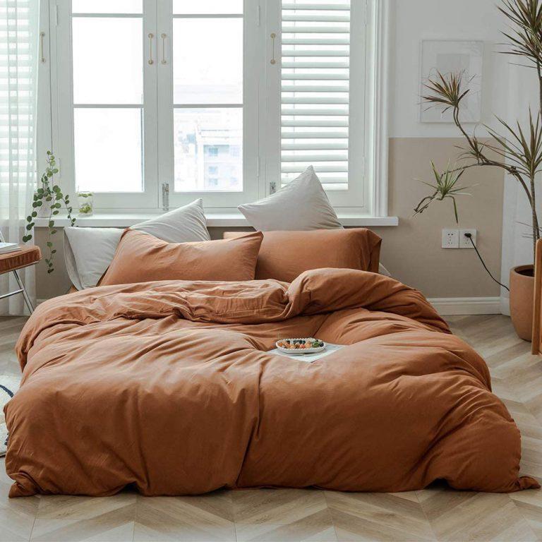 مدل های جذاب روتختی برای تخت کرم   کالای خواب بدروم
