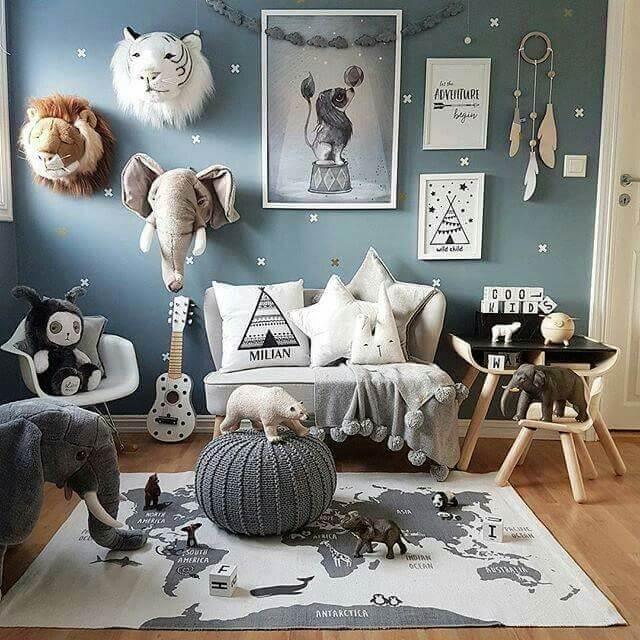 علایق کودک تان از قبیل حیوانات، رنگ ها، ابزارآلات و غیره | کالای خواب بدروم