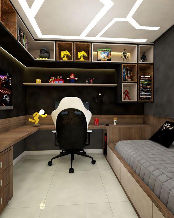 مدل 2 دکوراسیون اتاق پسرانه | کالای خواب بدروم