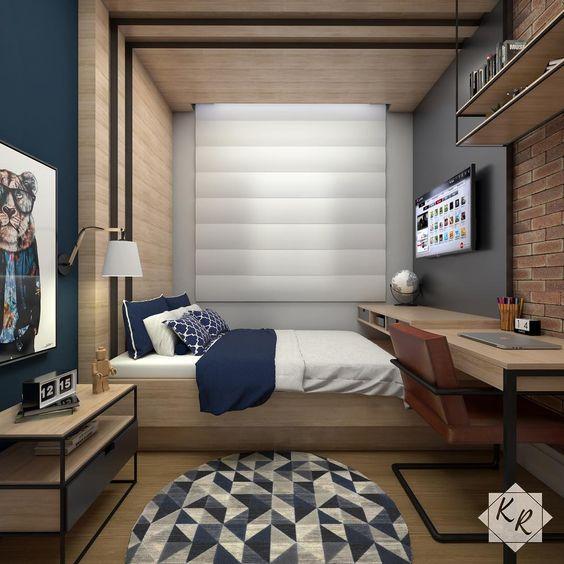 دکوراسیون اتاق پسرانه | کالای خواب بدروم