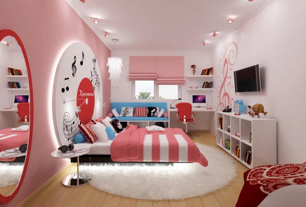 دکوراسیون اتاق دخترانه | کالای خواب بدروم