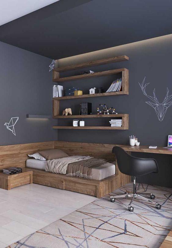 مدل دکوراسیون اتاق پسرانه | کالای خواب بدروم