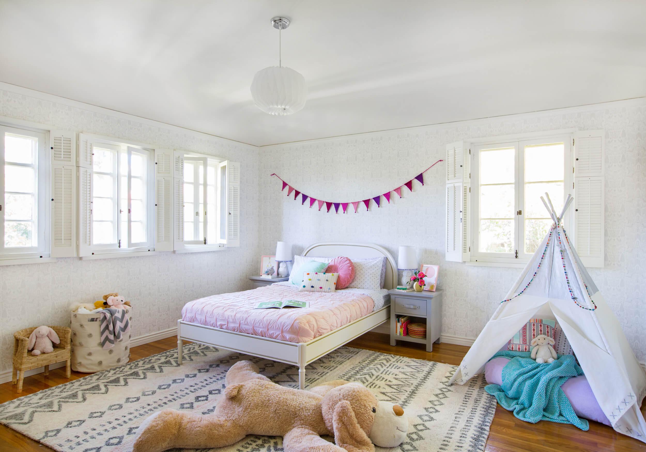 راهنمای طراحی و دیزاین اتاق خواب دخترانه| کالای خواب بدروم