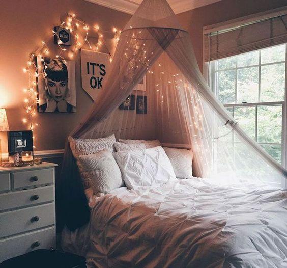 دکوراسیون اتاق خواب دخترانه بزرگسال | کالای خواب بدروم