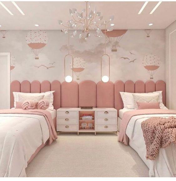 دکوراسیون اتاق خواب دخترانه | کالای خواب بدروم