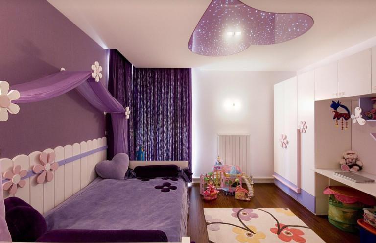 نکات مهم طراحی دکوراسیون اتاق خواب دخترانه | کالای خواب بدروم