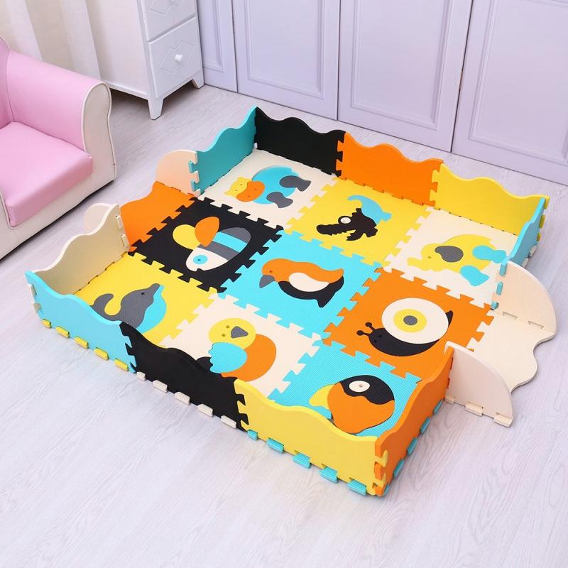 فرش پازلی فومی ست روتختی و فرش | کالای خواب بدروم